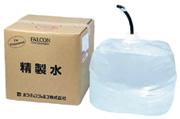 パワーアップジャパン FALCON <バッテリー用精製水>バッテリー液20L黒ホース付 3309 入数1 ケース10 計10 【NF店】