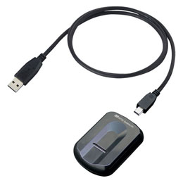 <欠品中 未定>☆ラトックシステム USB指紋認証システムセット・スワイプ式 SREX-FSU3