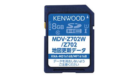KENWOOD ケンウッド 地図更新SDカード KNA-MD1616B 【NF店】