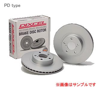 DIXCEL ディクセル ブレーキローター PDフロント  【PD3617049S】 レヴォーグ 1.6GT-S EyeSight リアVenti 年式:14/06~ 型式:VM4 【NF店】