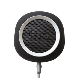 ☆iui audio ウーファー搭載ポータブルスピーカー BeYo(ビーヨ) ブラック×シルバー TR-4265/BKSV