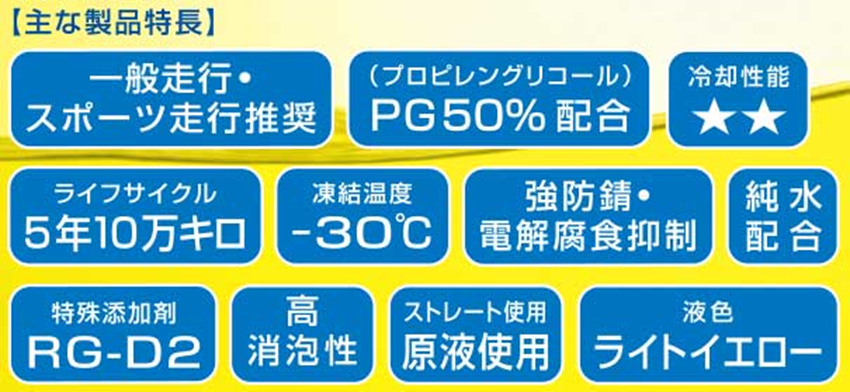 RG POWER LLC 【MS】 -Multi Spec- ハイパフォーマンス・マルチLLC 20リットル(バックインボックス)