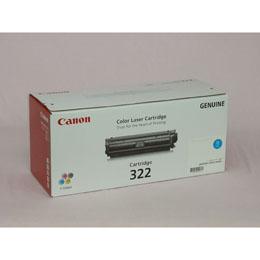 <欠品中 未定>☆CANON トナーカートリッジ322 シアン 輸入品 CN-EP322CYJY