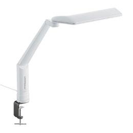 ☆ツインバード クランプ式LEDデスクスタンド ホワイト LE-H635W