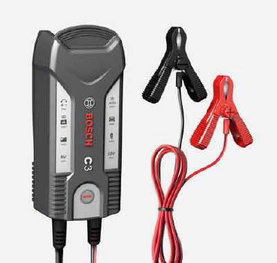 BOSCH ボッシュ 高性能コンパクトバッテリー充電器 C3