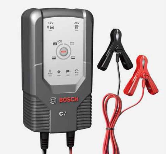 <欠品 未定>BOSCH ボッシュ 高性能コンパクトバッテリー充電器 C7