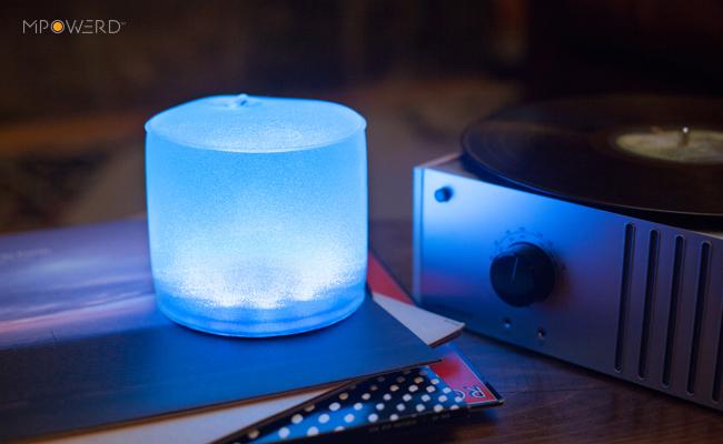 エムパワード カラー インフレータブル LEDソーラーランタン MP-COLOR