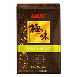 ☆UCC上島珈琲 UCC極味 やわらか仕立て(豆)AP500g 12袋入り UCC310478000