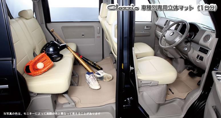 Clazzio 車種別専用立体マット 1台分 ラバータイプ トヨタ ハリアー 品番:ET-1151