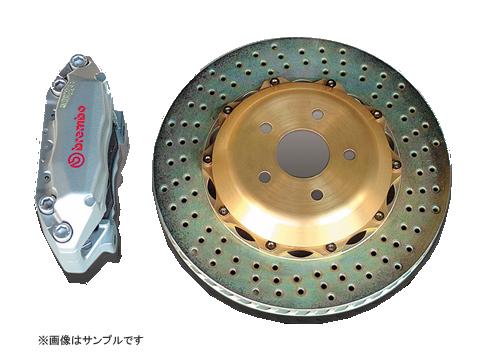 <代引不可>SYMS シムスレーシング bremboブレーキシステム フロント 品番:Y070099021 車種:レガシィ BP/BL(アプライドA~F)