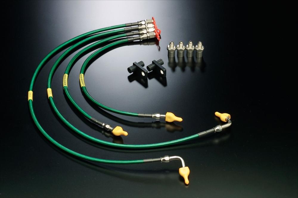 SYMS シムスレーシング ブレーキホースキット 品番:Y070266000 車種:レガシィ BP/BL