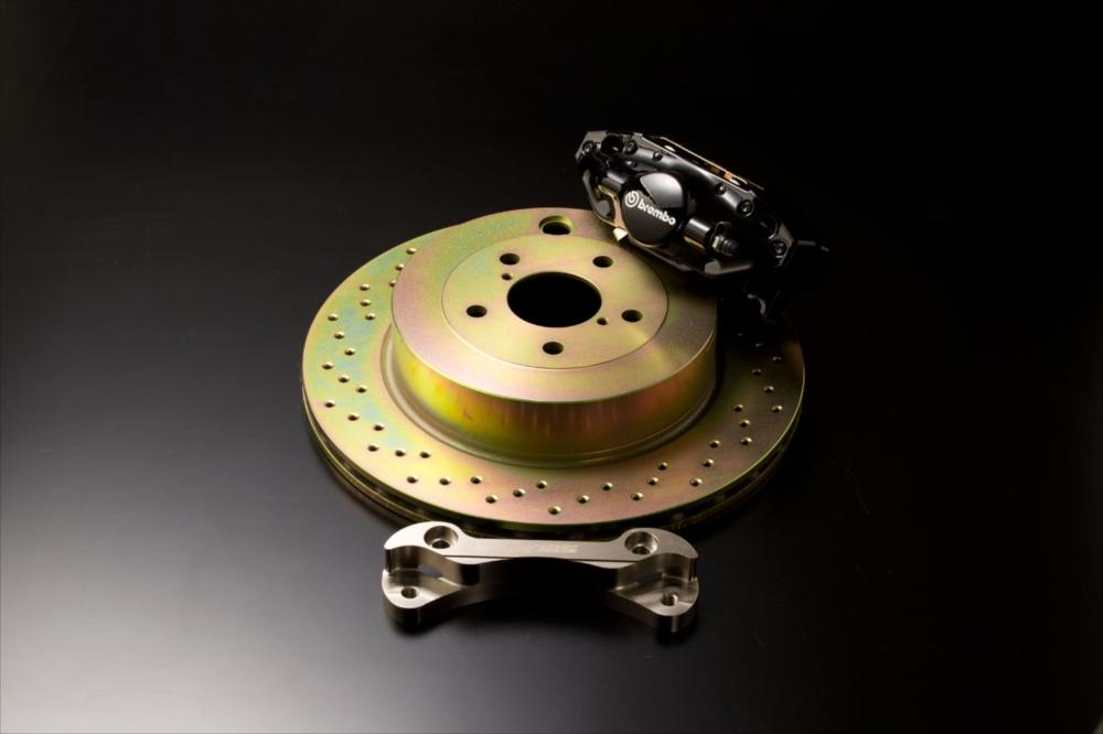 <代引不可>SYMS シムスレーシング bremboリヤキット 品番:Y070399023 車種:レガシィ BP/BL