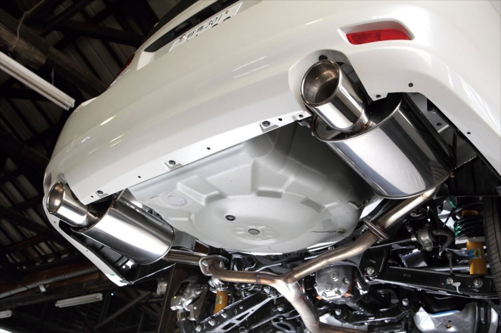 SYMS シムスレーシング リアマフラーセット 品番:Y0800BR001 車種:レガシィ BR9/BRG