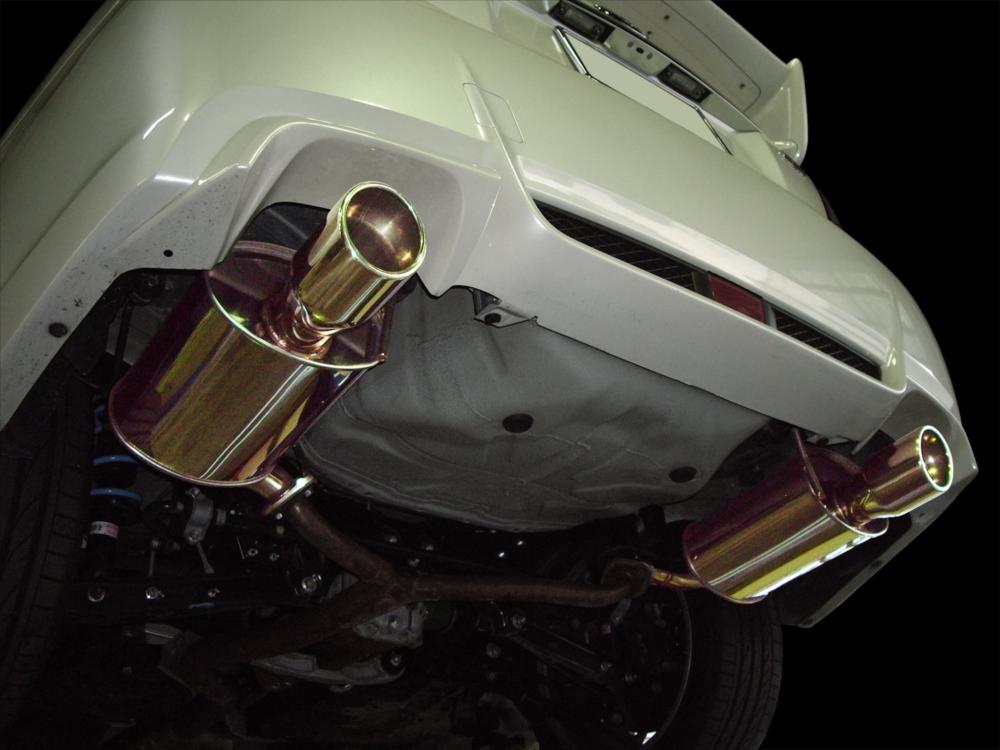 SYMS シムスレーシング GVBリアマフラー 品番:Y0800GV001 車種:インプレッサ CBA-GVB