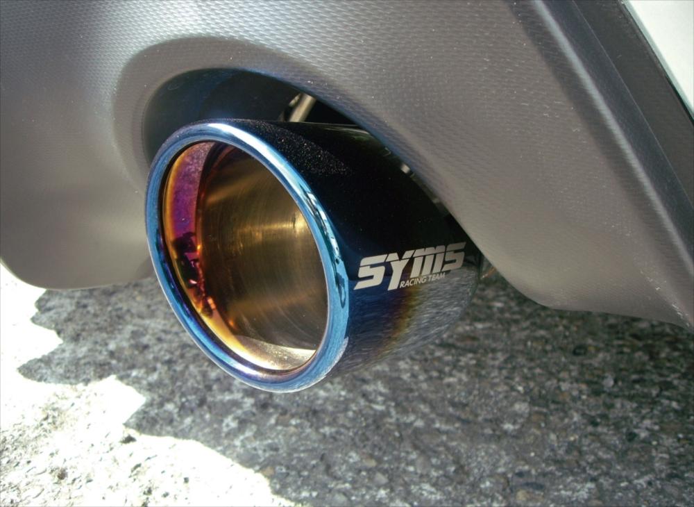 SYMS シムスレーシング リヤマフラー 品番:Y0800ZC001 車種:BRZ/86 DBA-ZC6/ZN6