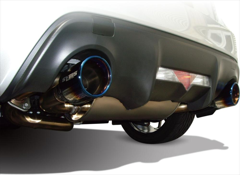 SYMS シムスレーシング リアマフラー&EXチャンバーセット 品番:Y0800ZC011 車種:BRZ/86 DBA-ZC6/ZN6