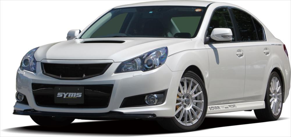 SYMS シムスレーシング ラジエターグリル FRP 品番:Y3000BM002 BM/BR 車種:レガシィ SYMS BM/BR, 溝口町:77d7dcbb --- officewill.xsrv.jp