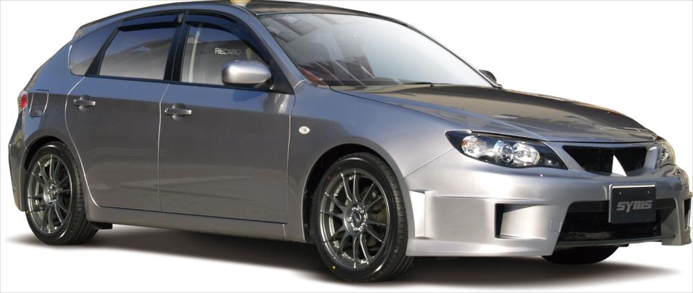 SYMS シムスレーシング フロントバンパー 品番:Y3000GH001 車種:インプレッサ GH系