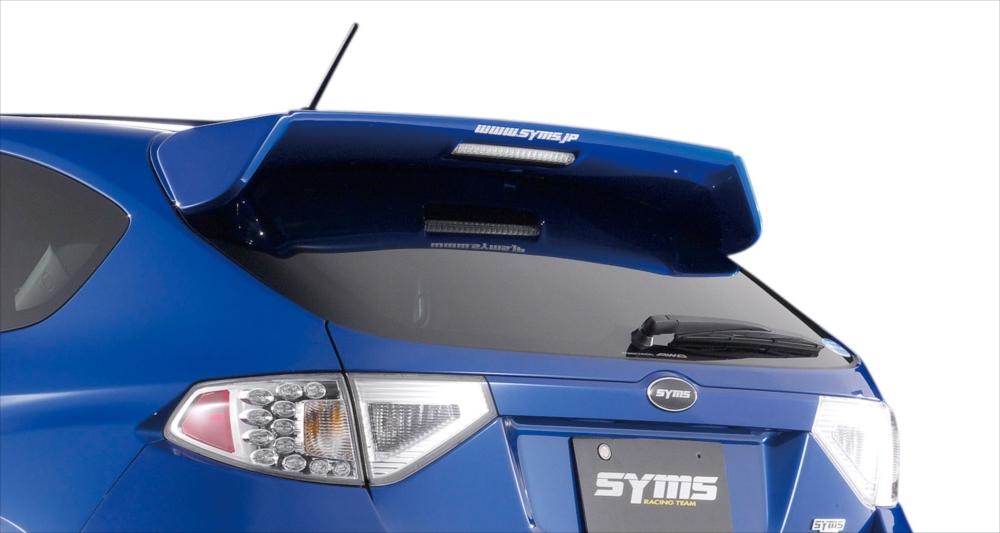 SYMS シムスレーシング リアウイング 品番:Y3000GR004 SYMS 車種:インプレッサ GR# GR#, 中古タイヤプロショップ:4fbe33a6 --- officewill.xsrv.jp