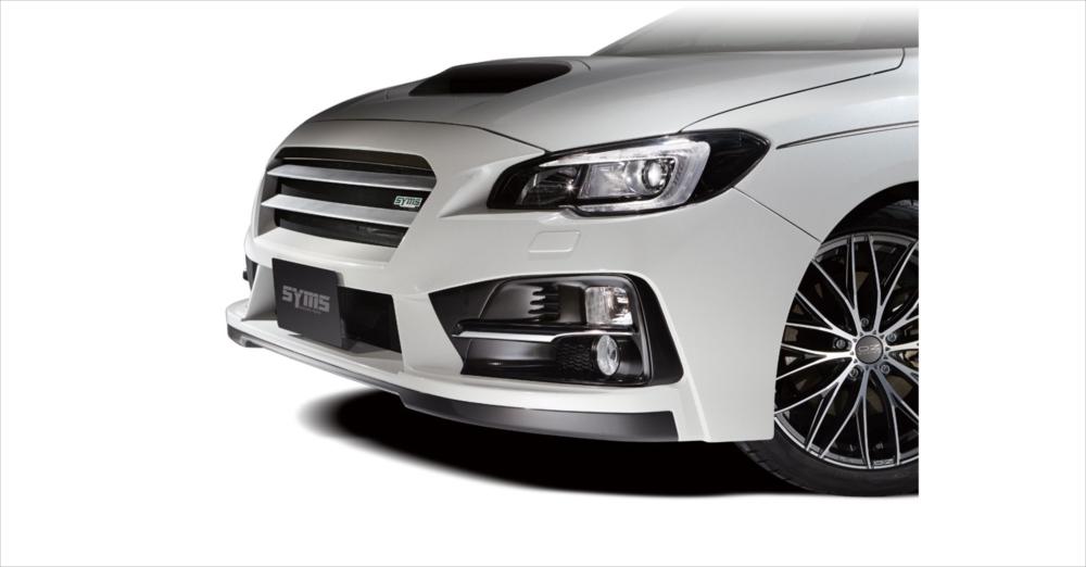 SYMS シムスレーシング フロントバンパー ヘッドライトウォッシャー無車用 品番:Y3000VM101 車種:レヴォーグ VMG/VM4
