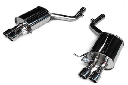 3D Design BMW マフラー φ80x4テール 品番:4101-21011 5シリーズ F10 535i/N55B30A