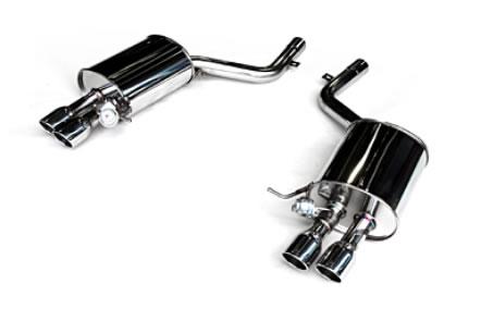 3D Design BMW マフラー φ80x4テール 品番:4101-21016 5シリーズ F10 AH5/N55B30A-M