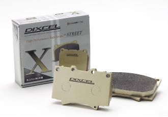 DIXCEL ディクセル ブレーキパッド タイプX フロント X361 077 車種:スバル フォレスター ts(ブレンボ) 型式:SJG 【NF店】