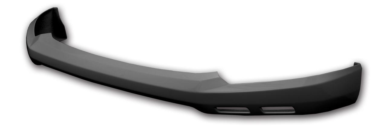 零1000 ZERO-1000 フロントリップスポイラー 未塗装(黒ゲルコート) 302Z002 デミオ DJ3FS・3AS・5FS・5AS 【NF店】