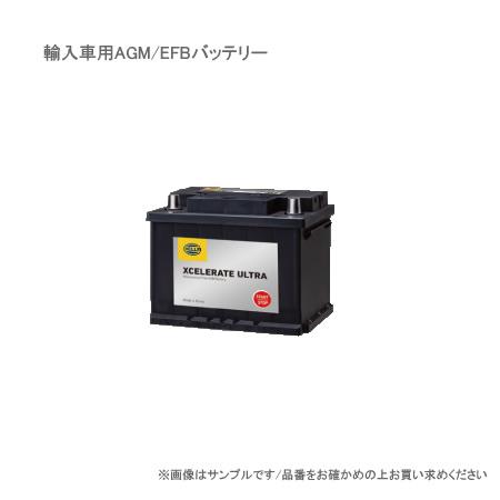 G&YU ジーアンドユー 輸入車用バッテリー 欧州車/AGM HELLA EFBL2 【NF】