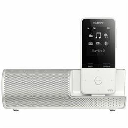 ☆ソニー NW-S315K-W ウォークマン Sシリーズ[メモリータイプ] 16GB スピーカー付属 ホワイト