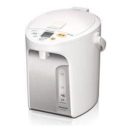 ☆Panasonic 電動給湯式電気ポット (3.0L) ホワイト NC-HU304-W