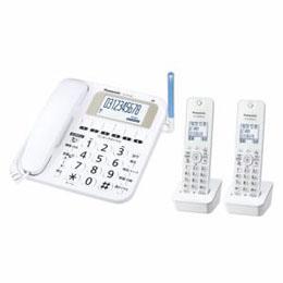 <欠品中 納期未定>☆Panasonic デジタルコードレス電話機(子機2台) ホワイト VE-E10DW-W
