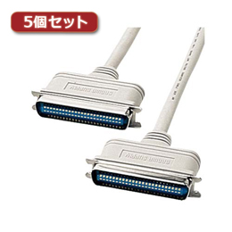 ☆【5個セット】 サンワサプライ SCSIケーブル KB-SCC1KX5