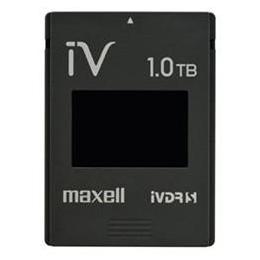 ☆maxell カセットHDD iV(アイヴィ)カラーシリーズ 1TB ブラック M-VDRS1T.E.BK
