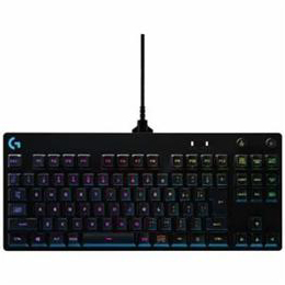 <欠品中 未定>☆ロジクール G-PKB-001 有線 テンキーレス メカニカルゲーミングキーボード(91キー・日本語・ブラック)