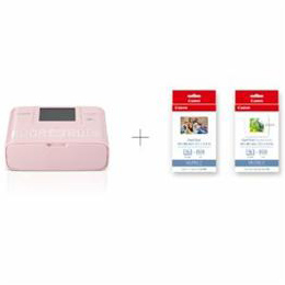 ☆Canon CP1300CARDPRINTKIT(PK) コンパクトフォトプリンター 「SELPHY」 カードプリントキット ピンク CP1300CARDKIT
