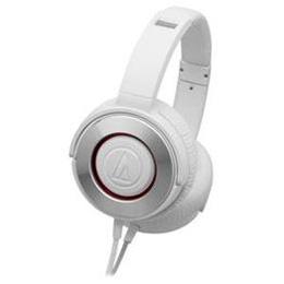 ☆Audio-Technica オーディオテクニカ ダイナミック密閉型ヘッドホン ホワイト ATH-WS550-WH