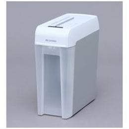 ☆アイリスオーヤマ マイクロカットシュレッダー (A4サイズ/CD/DVD/カードカット対応) ホワイト/グレー KP6HMCS