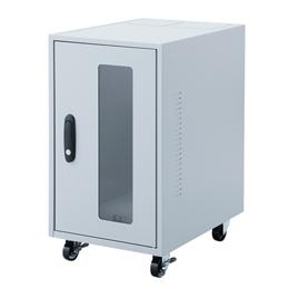 <欠品中 未定>☆サンワサプライ 簡易防塵ハブボックス(4U) MR-FAHBOX4U