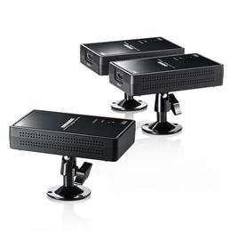 ☆サンワサプライ ワイヤレス分配HDMIエクステンダー(2分配) VGA-EXWHD7