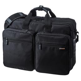 ☆サンワサプライ 3WAYビジネスバッグ(出張用/大型) BAG-3WAY22BK