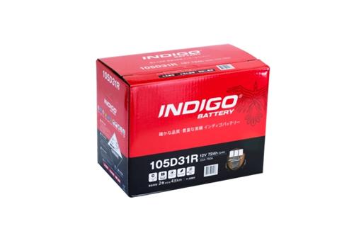インディゴバッテリー 国産車用 CMF 105D31R 【105D31R】ハイエースワゴン(H100) KD-KZH126G