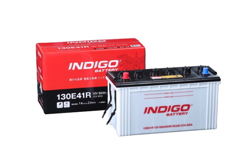 <個人宅宛配送不可>インディゴバッテリー 大型車用 130E41R  フォワード 130E41R