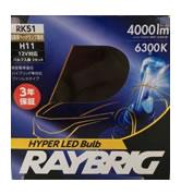 RAYBRIG レイブリック RK51 LEDヘッドランプ H11 6300K 12V 22W 【NF店】