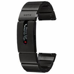 <欠品中 納期未定>☆ソニー ハイブリッドスマートウォッチ wena wrist pro Premium Black (ウェナリスト プロ プレミアムブラック) WB-11AB