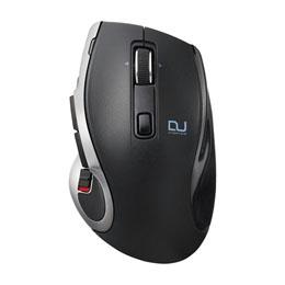 <欠品中 納期未定>☆エレコム Ultimate Blueマウス/DUALシリーズ/ハードウェアマクロ搭載/高速スクロール/無線/Bluetooth切替/8ボタン/ブラック M-DC01MBBK