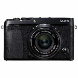 ☆富士フイルム ミラーレス一眼カメラ 「FUJIFILM X-E3」 XF23mmF2レンズキット ブラック F-X-E3LK23F2-B