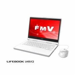 ☆富士通 モバイルパソコン FMV LIFEBOOK LH55/C2 アーバンホワイト FMVL55C2W