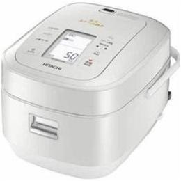 ☆日立 圧力スチームIH炊飯器「ふっくら御膳」(5.5合炊き) パールホワイト RZ-AW3000M-W