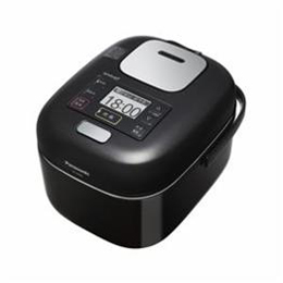 ☆Panasonic 可変圧力IHジャー炊飯器 (3合炊き) シャインブラック SR-JW058-KK